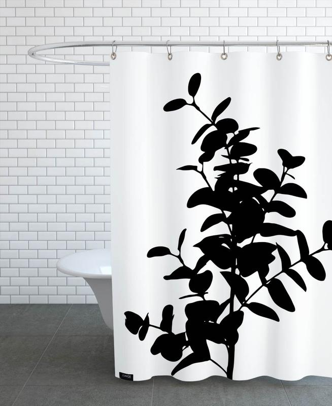 Eucalyptus Bunch Shower Curtain