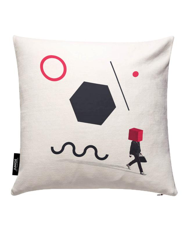 D is for Disorder Cushion Cover