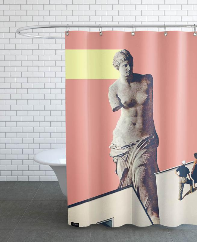 Holy Experience Shower Curtain