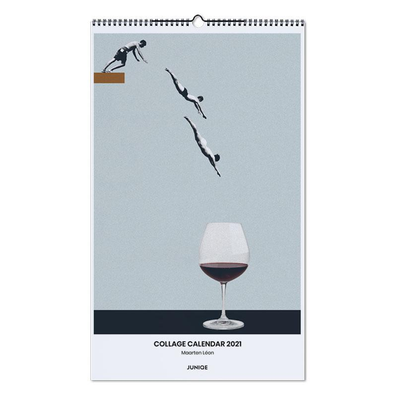 Humour, Calendar 2021 Calendar 2021- Maarten Léon calendrier mural