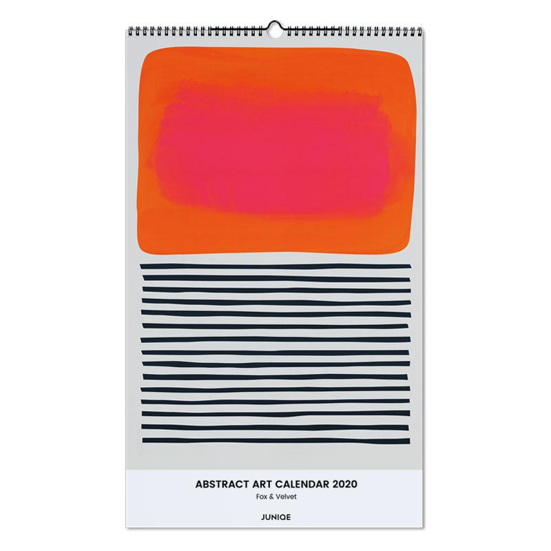 Abstract Art Calendar 2020 - Fox & Velvet calendrier mural
