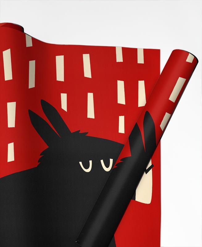 Art pour enfants, Noël, Donkey papier cadeau
