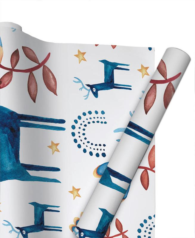 Christmas, Skandi Xmas Gift Wrap