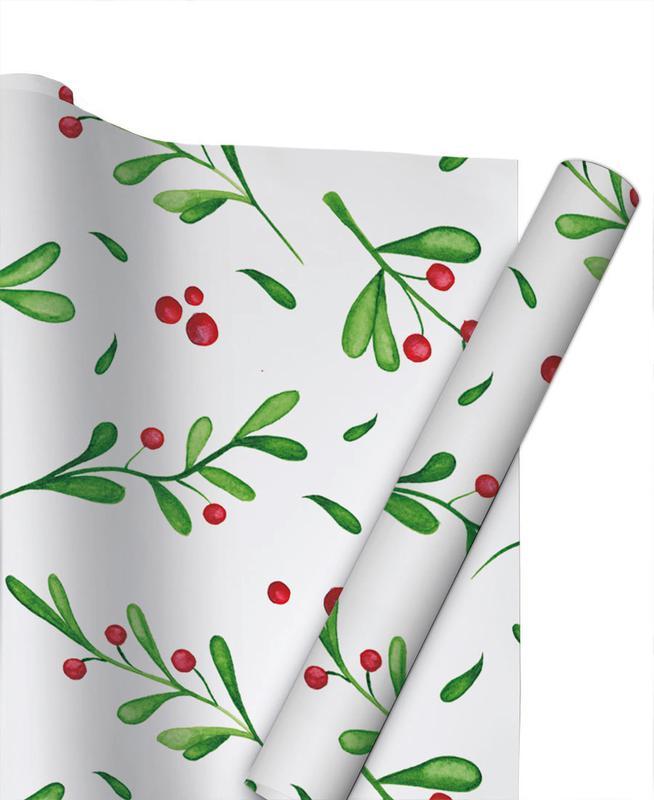 Christmas, Mistle Gift Wrap