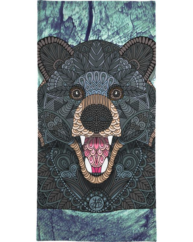 Beren, Ornate Black Bear handdoek
