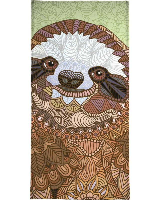 Faultiere, Smiling Sloth -Handtuch