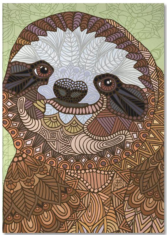 Luiaards, Smiling Sloth Notebook