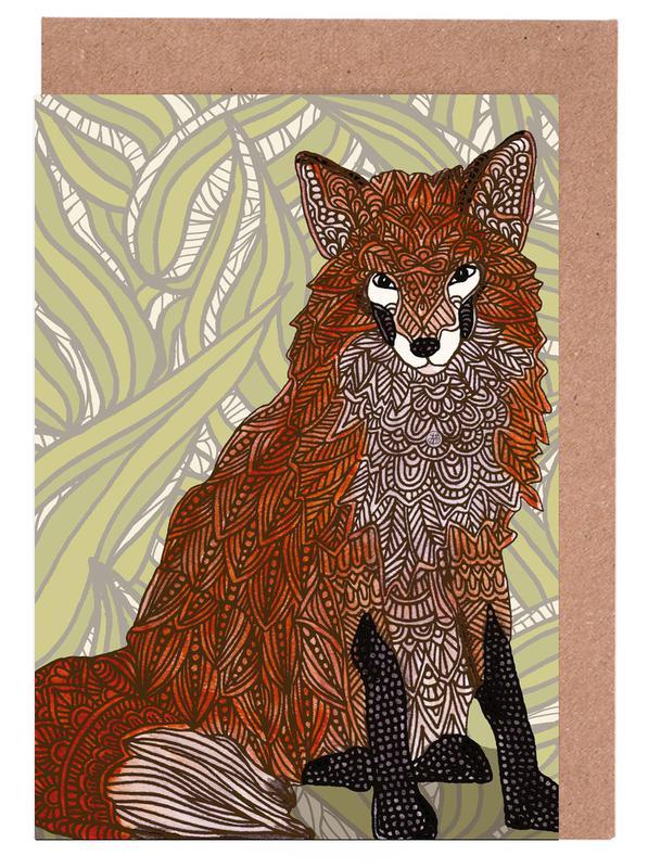 Foxy Lady Greeting Card Set