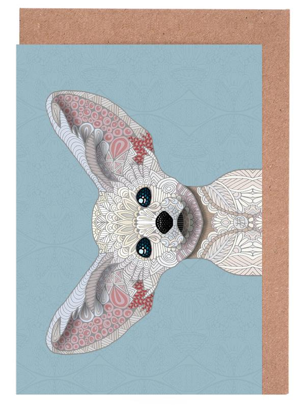 Fennec Fox Greeting Card Set