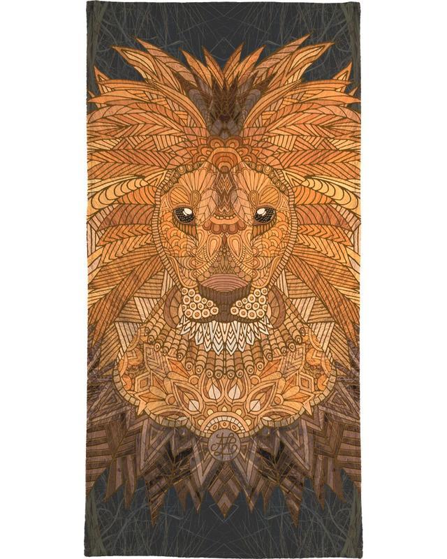 King Lion -Strandtuch
