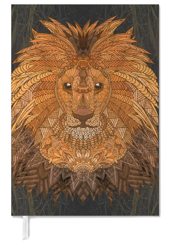 Nursery & Art for Kids, Lions, King Lion Personal Planner