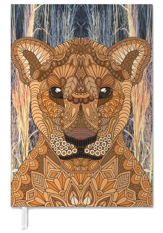 Safari Animals, Lioness Personal Planner