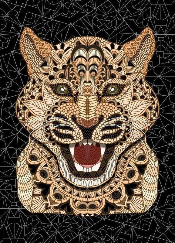 Leopard toile