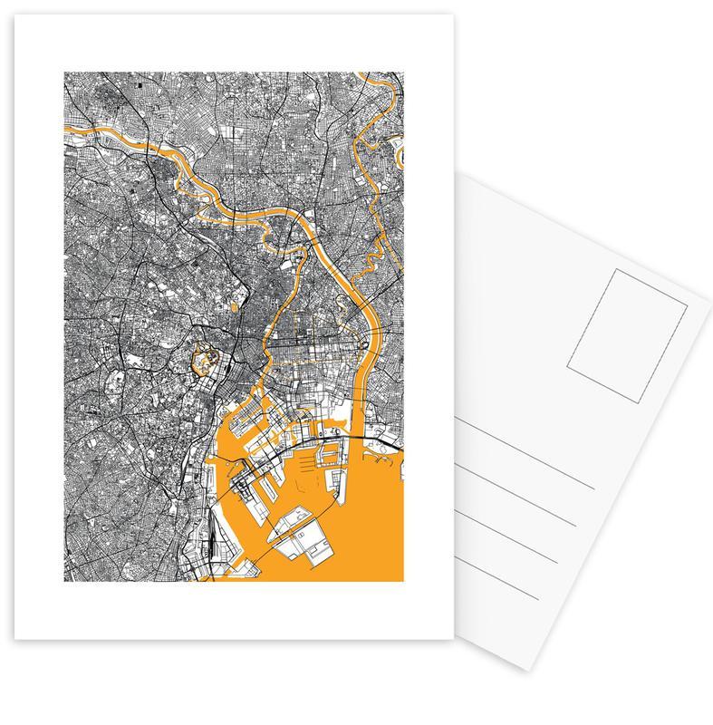 Orange Infusion In Tokio cartes postales
