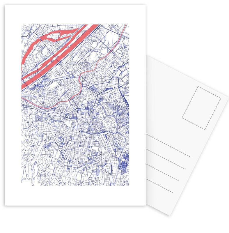 City Maps, Vienna, Vienna Postcard Set