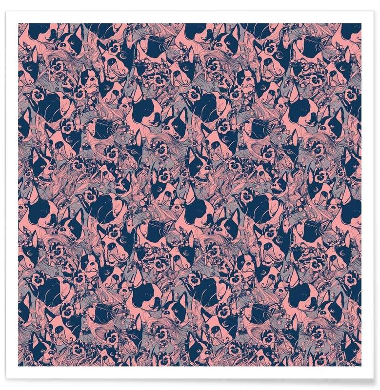 Chiens, Boston Pink affiche