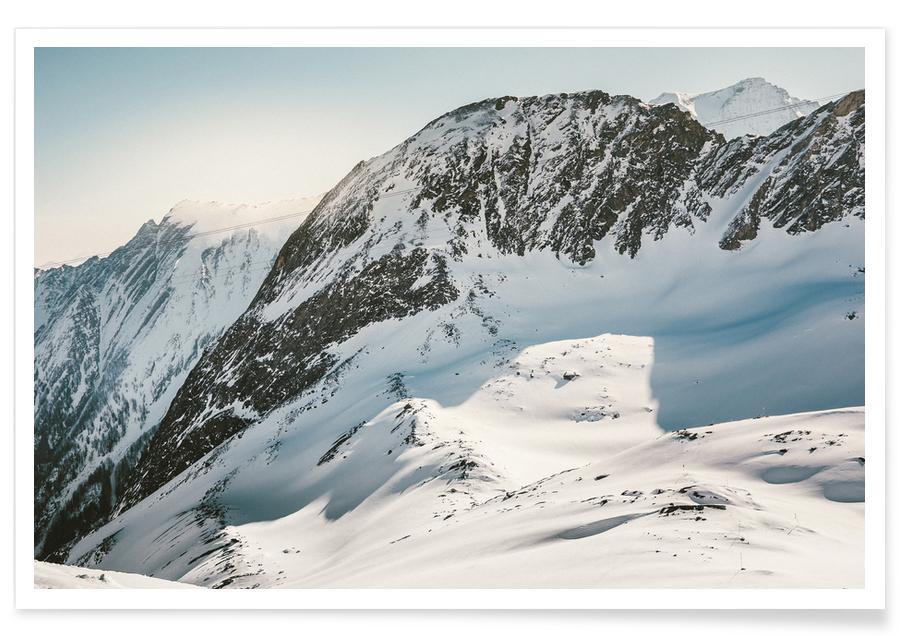 Montagnes, Ski & snowboard, Off for a Walk IV affiche