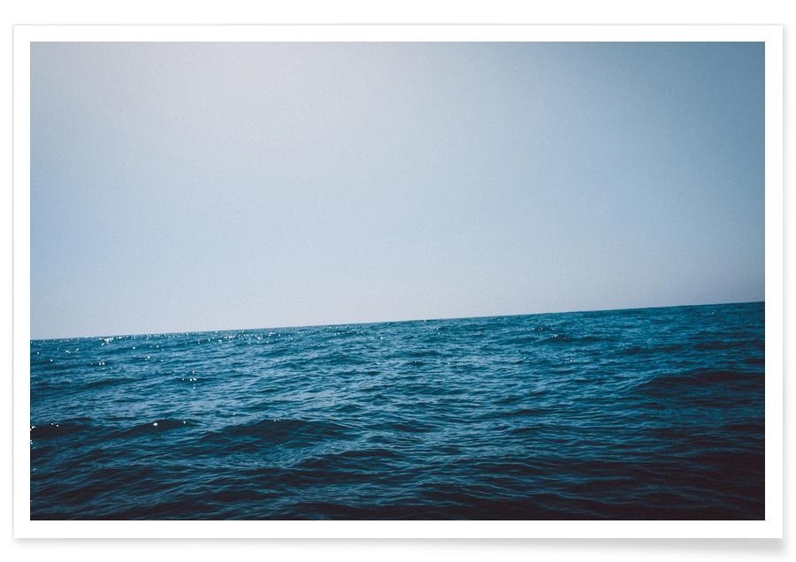 Ozeane, Meere & Seen, Free on the Sea -Poster