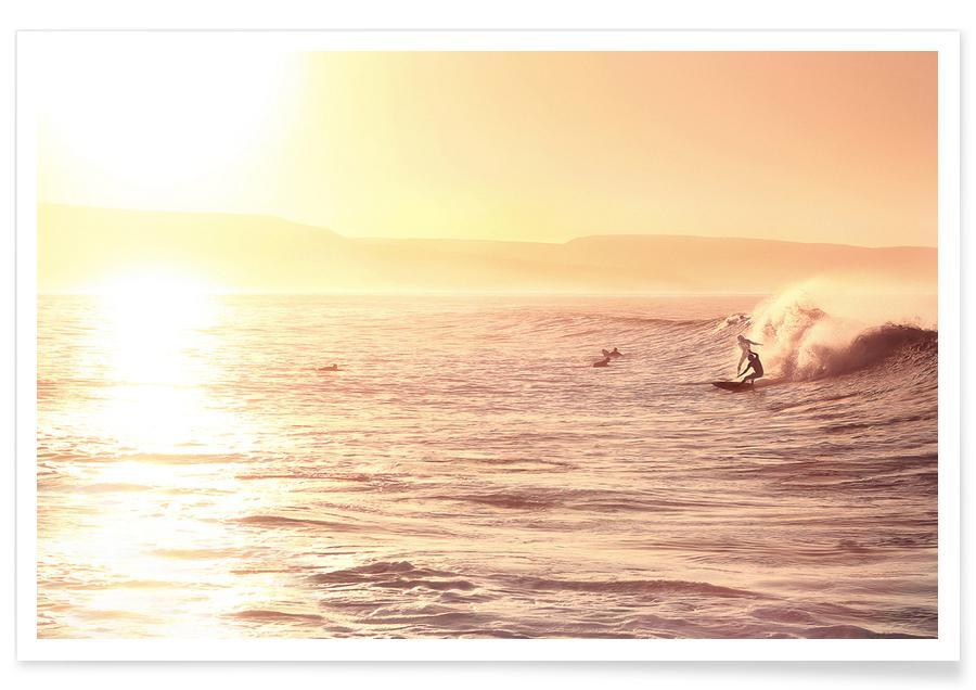 Océans, mers & lacs, Surf, Cut The Wave x Anchor Point affiche