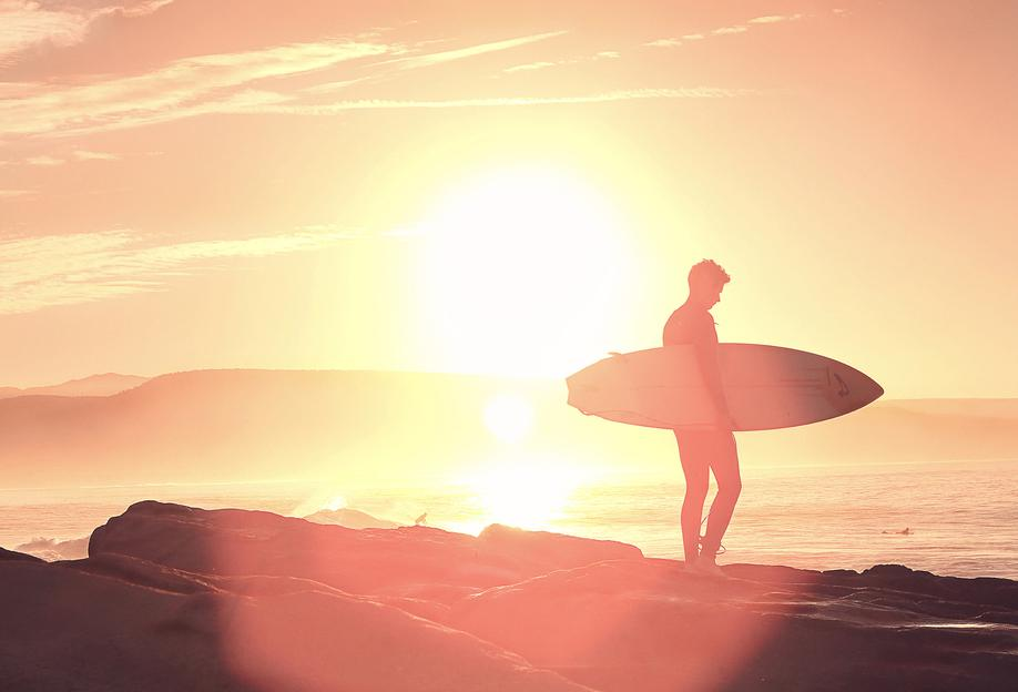 Early Surf x Anchor Point Aluminium Print