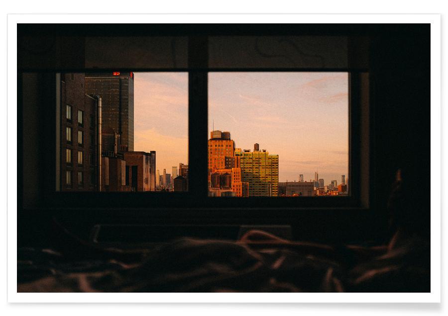 New York, Reise, View -Poster
