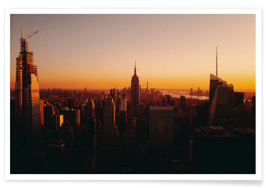 New York, Reise, On Top -Poster