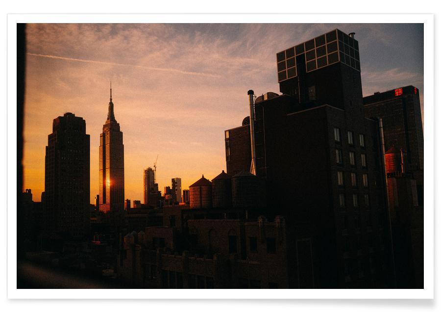 New York, Sehenswürdigkeiten & Wahrzeichen, Reise, Layers -Poster