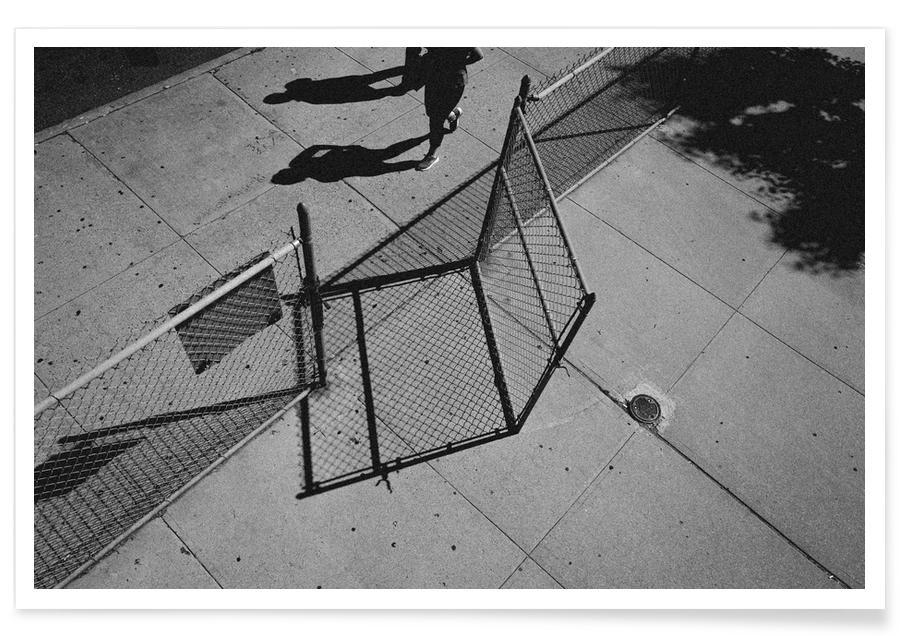 Schwarz & Weiß, New York, Reise, Go -Poster