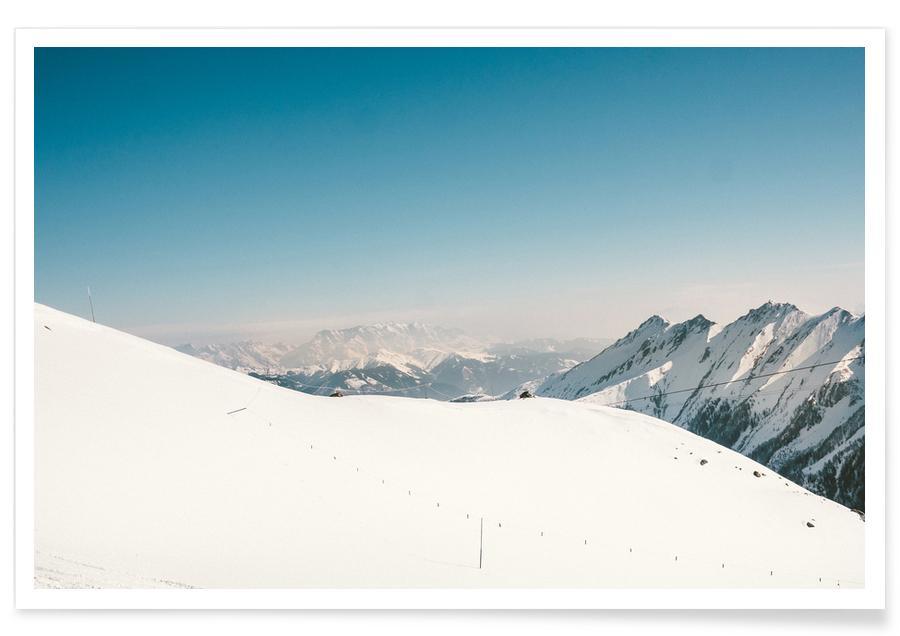 Montagnes, Ski & snowboard, Off for a Walk II affiche