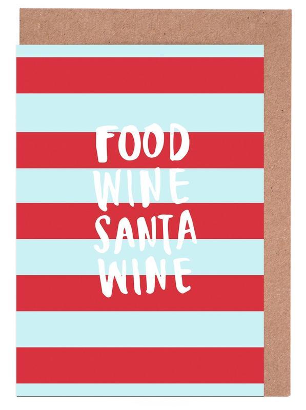 Noël, Citations et slogans, Food, Wine, Santa, Wine cartes de vœux