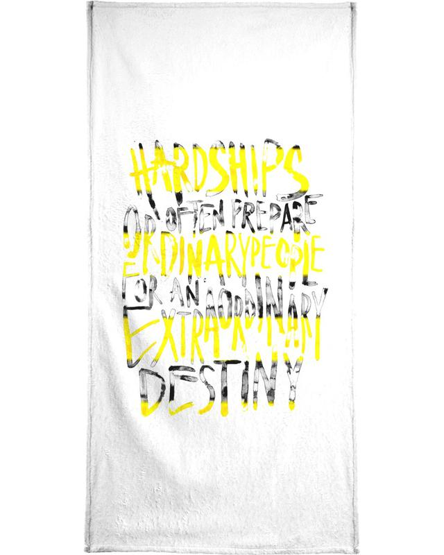 Hardships -Handtuch