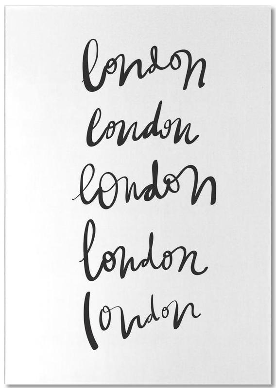 Black & White, London, London Notepad