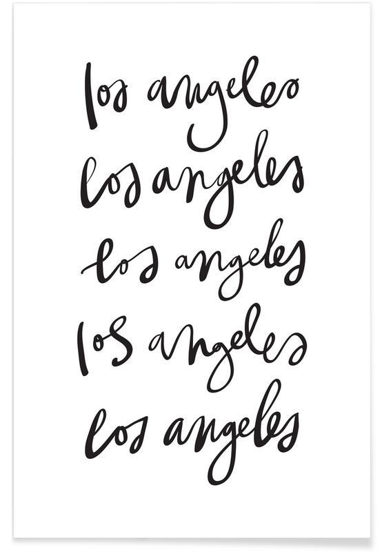 Noir & blanc, Los Angeles, Los Angeles affiche