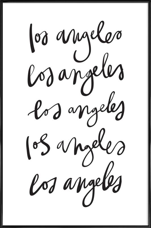 Los Angeles Framed Poster