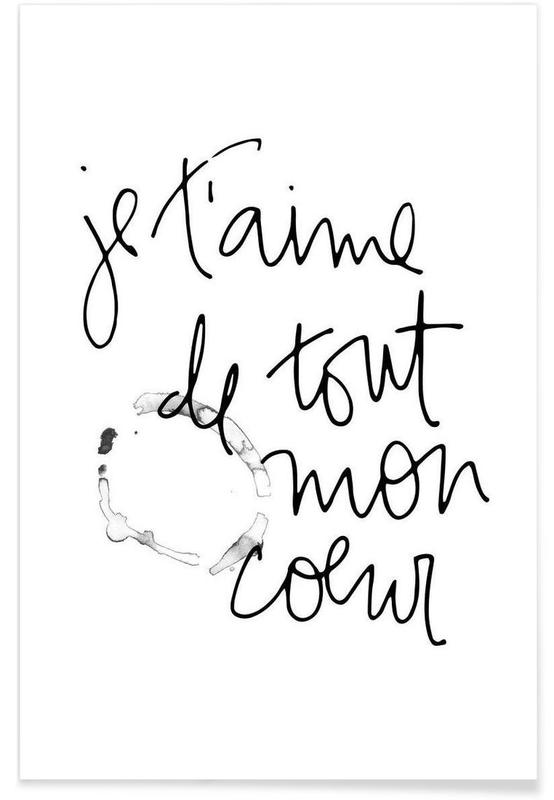 Je t'aime poster