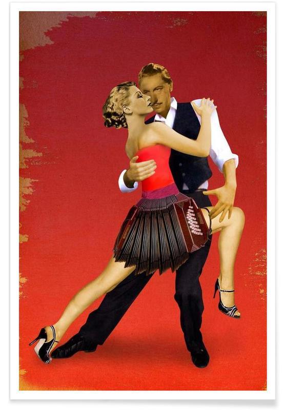 Dans, Tango Plakat