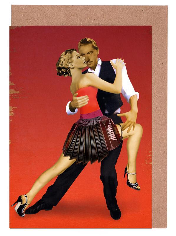 Tango Greeting Card Set
