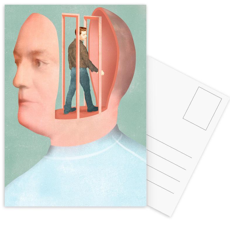 , Inside Head ansichtkaartenset