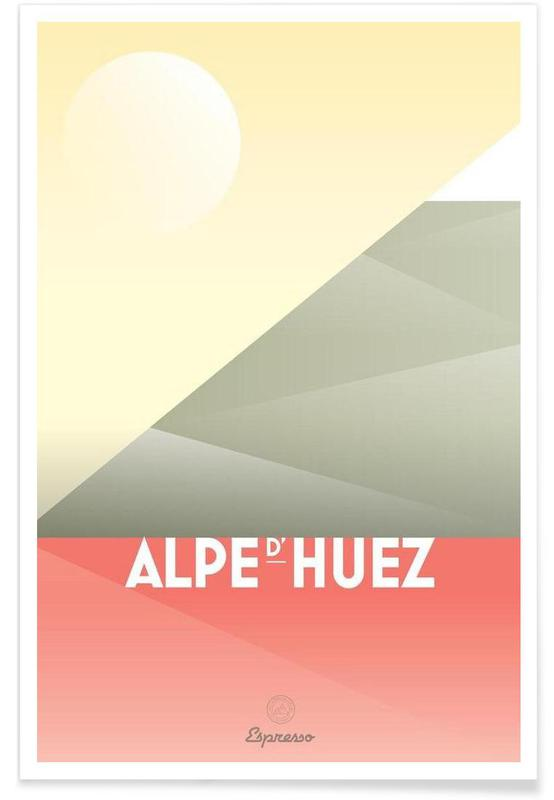 Wielersport, Alpe d'Huez II poster