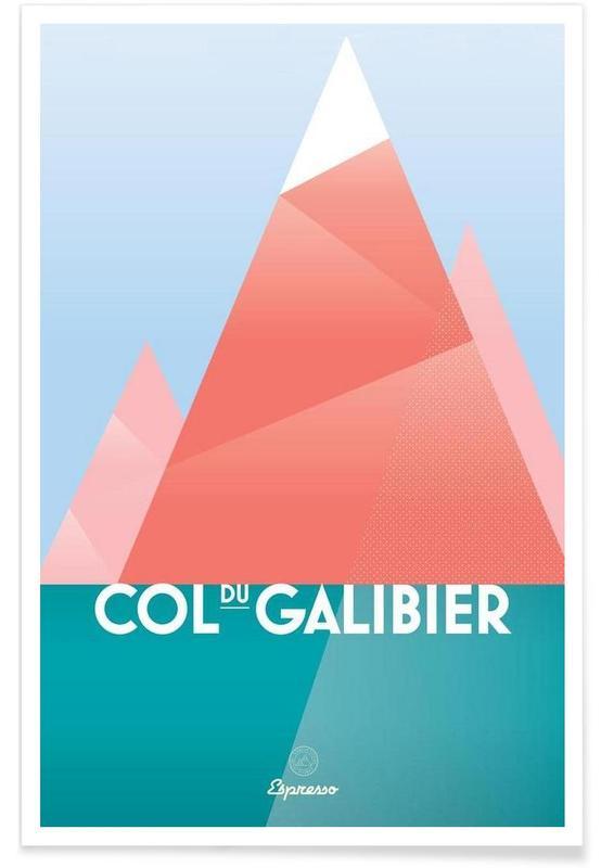 Wielersport, Col du Galibier II poster