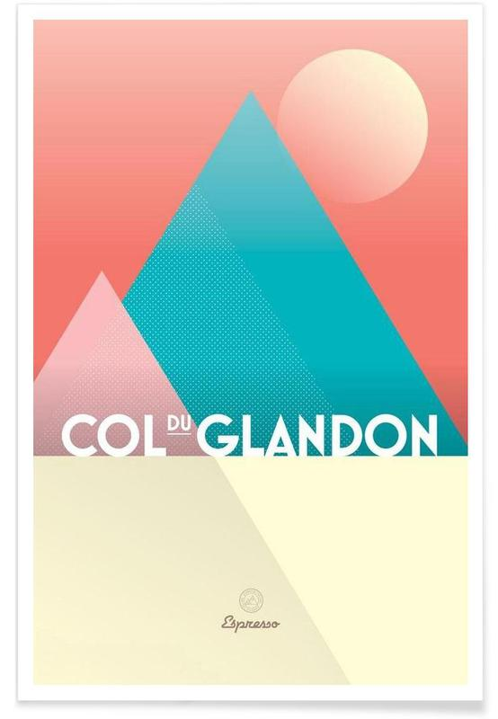 Wielersport, Col du Glandon II poster