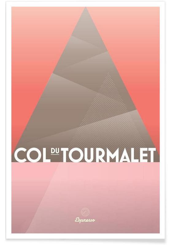 Cyclisme, Col du Tourmalet II affiche