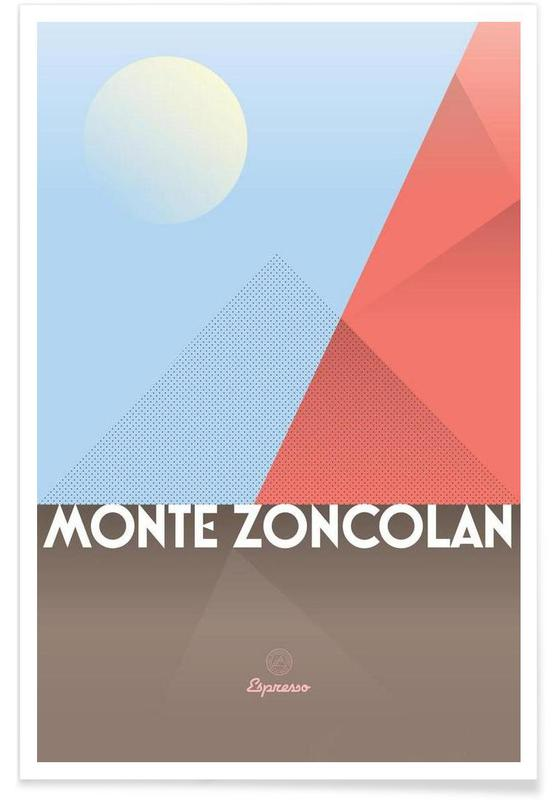 Cycling, Monte Zoncolan  II Poster