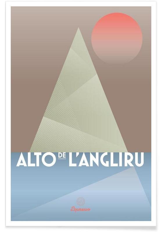 Wielersport, Alto de L'Angliru II poster