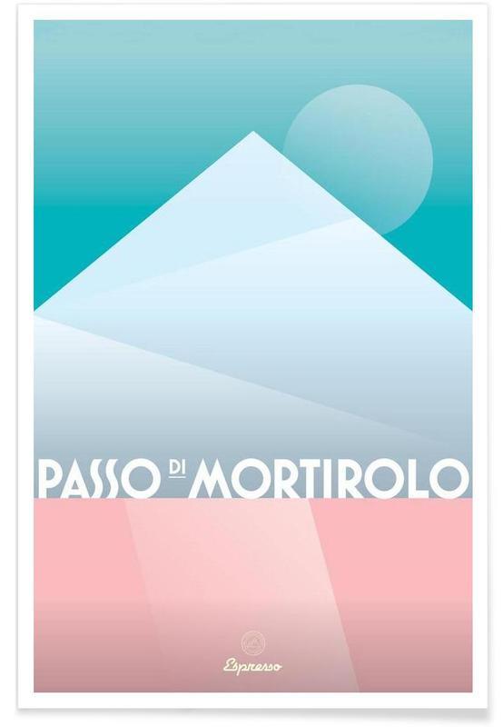 Cyclisme, Passo di Mortirolo II affiche