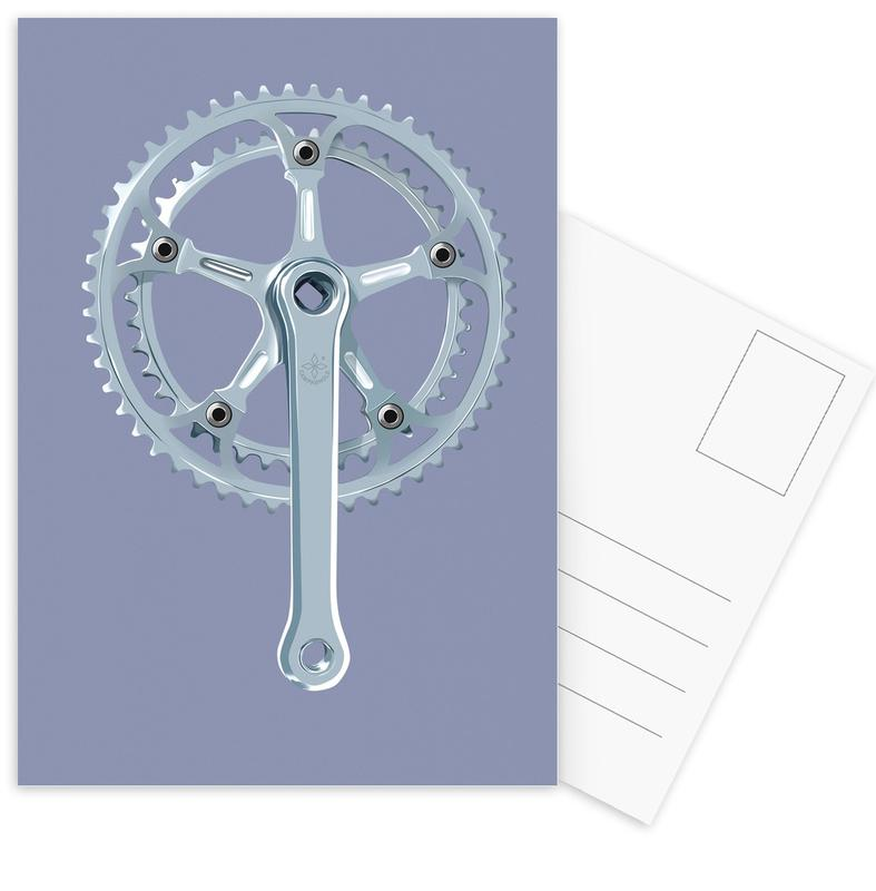 Cycling, Campa I Postcard Set