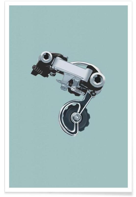 Cycling, Campa III Poster