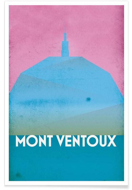 Wielersport, Mont Ventoux poster