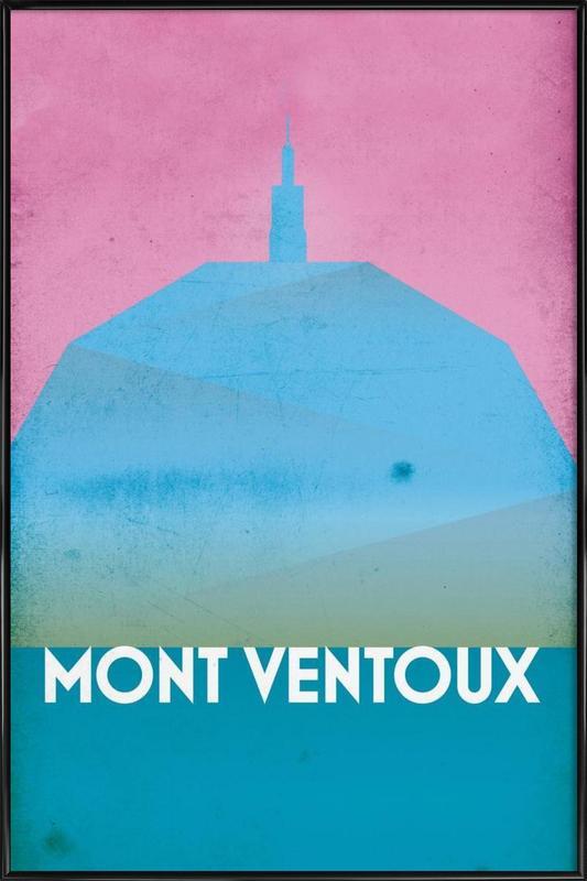 Mont Ventoux Framed Poster