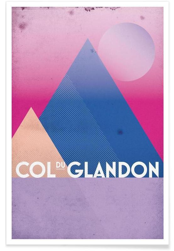 Cycling, Col du Glandon Poster
